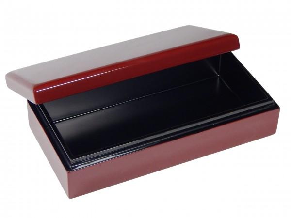 Box, Behälter, Kasten, Kästchen, Schachtel, Schatulle mit Deckel 16x8cm Pianolack Holz Eigene Manuf