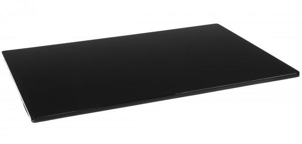 Platzset 45x32cm Holz Pianolack Schwarz