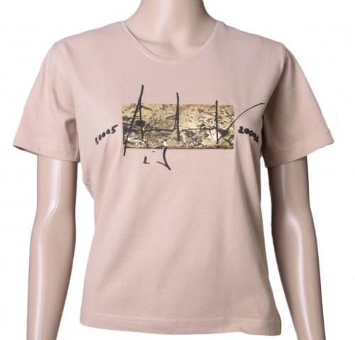 Up in Space - v. Charles Wilp - KUNST T-Shirt Limited Edition NUR 50 Stk. Sammelwürdig! (M, Mocca)