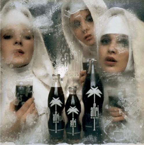 Charles Wilp - Motiv Afri Cola Nonnen 1968 !!!