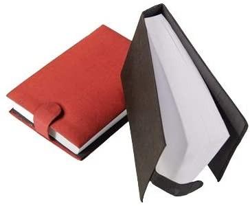 Notizblock mit Seideneinband, klein, ideal für die Handtasche