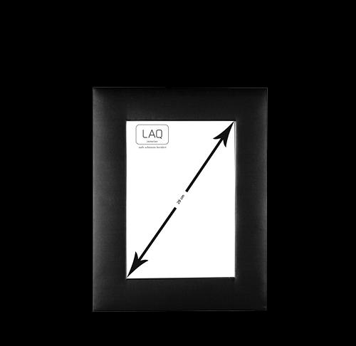 Bilderrahmen zum Aufstellen, Seide, 19x24cm