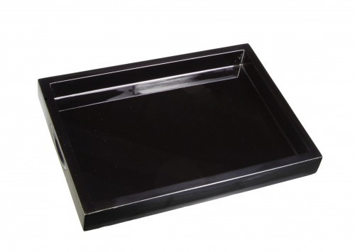 LAQ Design – Tablett für Kekse - 12-fach Pianolack - Eigene Manufaktur - geeignet für Standardkeksve
