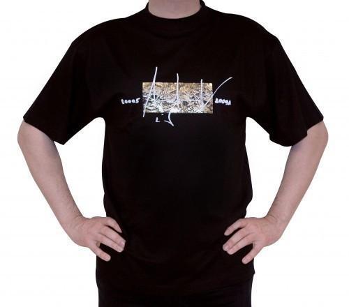 Up in Space - v. Charles Wilp - KUNST T-Shirt Limited Edition NUR 50 Stk. Sammelwürdig! (L, Schwarz)