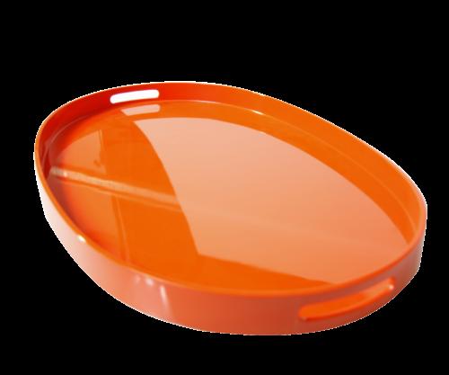 LAQ Tablett EXTRA groß Oval - diverse Farben