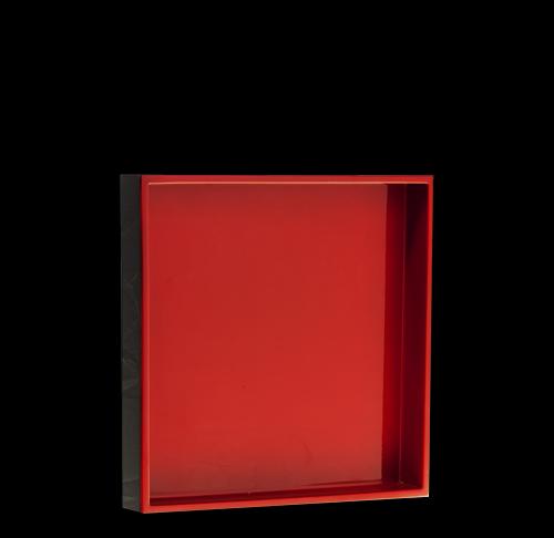 Tablett, Quadratisch, 20x20xm, verschiedene Farben, Holz/Pianolack