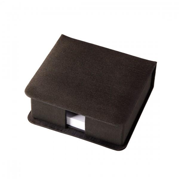 Zettelbox zum Aufklappen, Seide für Post It & Standardnotizwürfel