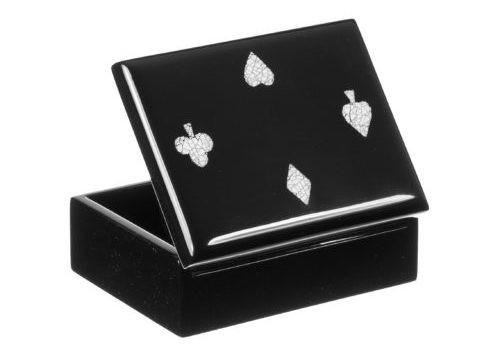 Box, Behälter, Kasten, Kästchen, Schachtel, Schatulle für Spielkarten Standardgröße