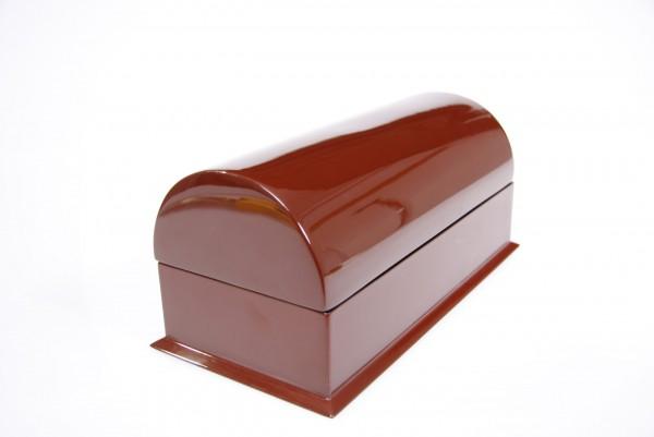 Armbandbox Schmuckschatulle Holz Pianolack Braun