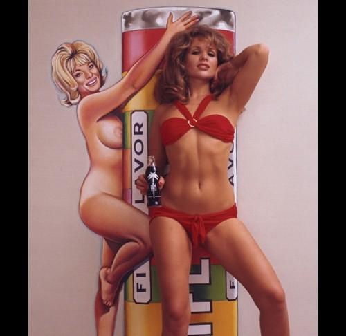Wilp Mel Ramos Pin Ups 1 RETRO Pop Art Limitierte 500er Auflage Kunst